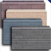 China Faux tile aluminium insulated exterior wall panels on sale