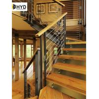 Quality Modern Prefabricated Stainless steel/Aluminum handrail cable railing designs for sale