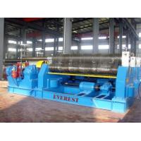 Quality W11 series mechanical 3-roller symmetrical plate rolling machine for sale