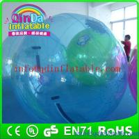 Quality Funny inflatable roller ball walk on water ball human hamster ball in pool for sale