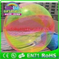 Quality High Quality and Cheap Inflatable Water Ball ,Transparent Ball For Kids Water Games for sale