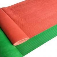 Quality Wide Fine Ribbed Insulation Rubber Sheet for sale