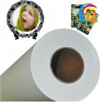 Quality Dry And Not Curl Sublimation Paper Roll For Epson/Mimaki Printer Digital Textile Printing(FU-C 85) for sale