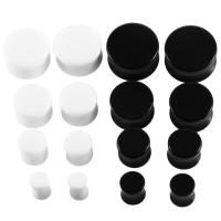 Buy cheap White&Black Acrylic Ear Tunnel Plug from wholesalers