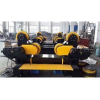 Quality Travelling Self Aligning Rotator Rubber Combine Steel Wheel Load Capacity 30T for sale