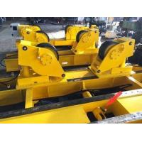 Quality Yellow Conventional Hydraulic Fit Up Welding Rotator For Pipe Butt Welding for sale