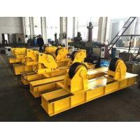 Quality 5T - 40T Tank Turning Rolls , Fit Up Welding Rotator For Pressure Vessels for sale