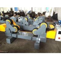 Quality 20 T Self Adjust Fit Up Welding Rotator Pipe Roller Support With Motorized Moving Motor for sale