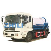 Buy cheap dongfeng kinrun sewer vacuum truck 10000L from wholesalers
