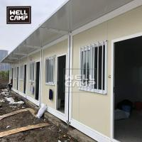 Buy cheap Low cost 20ft flat pack container house in South Africa standard modular from wholesalers