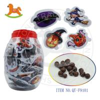 China Halloween blister chocolate popping candy 9101 on sale