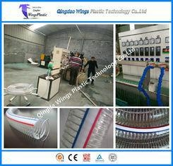 China PVC Transport Pipe Machine PVC Reinforced Pipe Extrusion Line