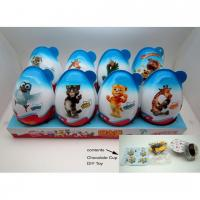 Quality Chocolate NO.C093 Huge Surprise Egg with 2 Chocolate Cup + 1 Toy 40g*8pcs*4trays for sale